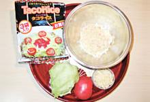 準備するもの:タコポテサラダ